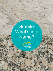 Granite - What's in a Name