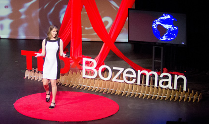 TEDx Bozeman 2016 Karin KIrk Healing the Divide on Climate Change