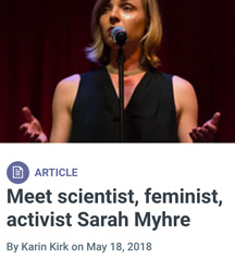 Yale Climate Connections Sarah Myhre profile