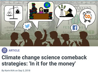 Yale Climate Connections, responding to climate myths, part 2